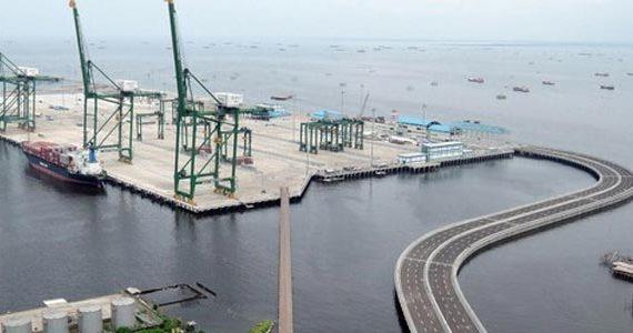 Proyek pelabuhan patimbang