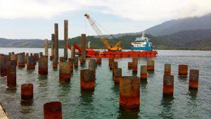pembangunan pelabuhan depare